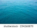ocean water background   Shutterstock . vector #254260870