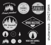 set of logo  labels  badges and ... | Shutterstock .eps vector #254271844