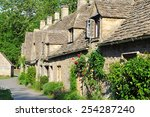 Traditional Old Houses In...