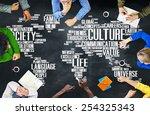 culture community ideology... | Shutterstock . vector #254325343
