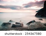Sea And Rocks Landscape