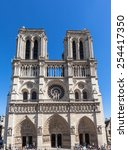 Front View Of Notre Dame In...