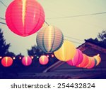 Chinese Paper Lanterns At A...