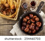 Roasted Chestnuts In A Cast...
