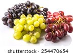 Red  Green And Black Grapes...