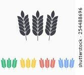barley icon | Shutterstock .eps vector #254488696