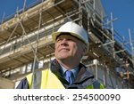 civil engineer with... | Shutterstock . vector #254500090