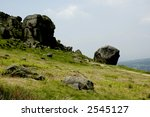 Cow   Calf Rocks  Ilkley