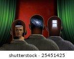 3 different minds | Shutterstock . vector #25451425