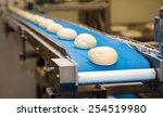 bread bakery food factory. | Shutterstock . vector #254519980