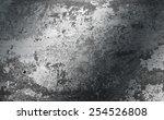 grunge brushed metal texture  ... | Shutterstock . vector #254526808