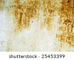 plate of metal rusty on all...   Shutterstock . vector #25453399