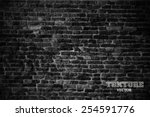 old brick wall in a background... | Shutterstock .eps vector #254591776