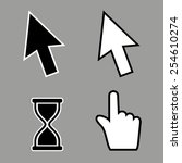 cursor icons | Shutterstock .eps vector #254610274