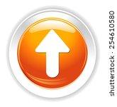 upload icon | Shutterstock . vector #254610580