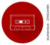 Plastic Audio Compact Cassette...