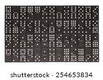 dominoes background | Shutterstock . vector #254653834