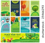 spring summer cards. to see... | Shutterstock .eps vector #25466293