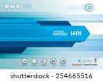 line speed business background | Shutterstock .eps vector #254665516