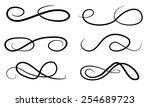 vector swirl elements for your... | Shutterstock .eps vector #254689723