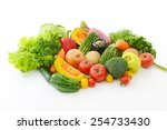 fresh  vegetables | Shutterstock . vector #254733430