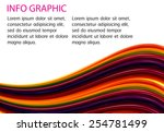 abstract technology background... | Shutterstock .eps vector #254781499