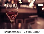 Glass Of Wine Restaurant...