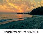 twilight sea | Shutterstock . vector #254860318
