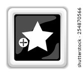 add to favorites icon. internet ... | Shutterstock . vector #254870566