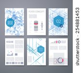 templates. design set of web ... | Shutterstock .eps vector #254881453