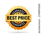 best price guarantee icon | Shutterstock .eps vector #254890360