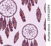hand drawn seamless pattern....   Shutterstock .eps vector #254910394