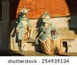 venice  italy   february 16 ... | Shutterstock . vector #254939134