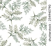 branches of plants seamless... | Shutterstock .eps vector #254940790