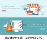 vector illustration. flat... | Shutterstock .eps vector #254965270