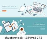 vector illustration. flat... | Shutterstock .eps vector #254965273