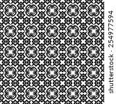pattern seamless design vector... | Shutterstock .eps vector #254977594