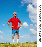 full length of confident senior ... | Shutterstock . vector #255011500