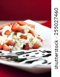 strawberry risotto with... | Shutterstock . vector #255027460
