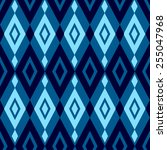 geometric pattern with blue... | Shutterstock .eps vector #255047968