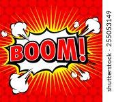 Boom    Comic Speech Bubble ...