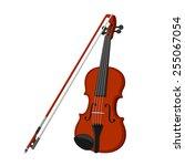 violin | Shutterstock .eps vector #255067054