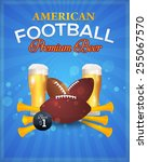 american football vector design ...   Shutterstock .eps vector #255067570
