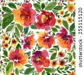 Vector Illustration For Textil...