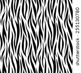 trendy fashion fabric print... | Shutterstock .eps vector #255130780