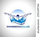 Swimming Club Logo Design....