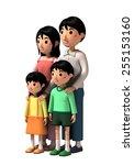 family | Shutterstock . vector #255153160