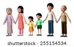 family | Shutterstock . vector #255154534