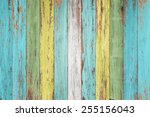 Vintage Wood Background With...