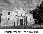 the historic alamo at  san...